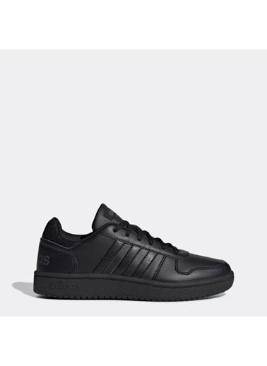 adidas Hoops 2.0 Kadın Günlük Ayakkabı Ee7897 Siyah